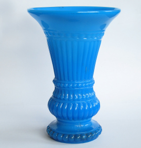 Blue Milk Glass